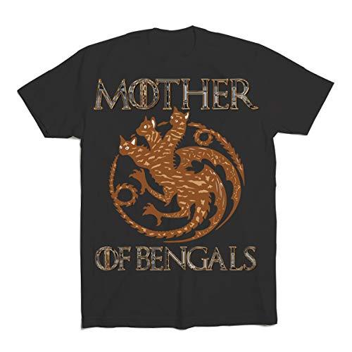 Bengal Cat Kitten Mother Gift Long Sleeve Tshirt-1