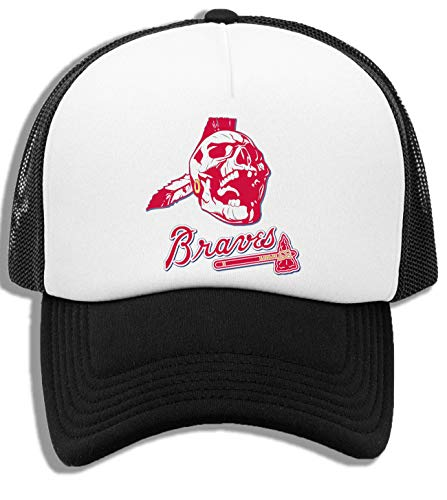 Jefe Knockahoma -Muertos Guerrero Gorra De Béisbol Unisex Niños Blanca Negra White Black Kids Baseball Cap
