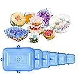 Tapas de silicona elásticas para tapas de alimentos reutilizables Tapas,...
