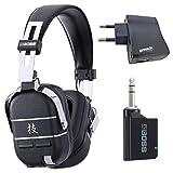 Boss Waza-Air - Sistema de auriculares inalámbricos para guitarra (incluye fuente de alimentación USB keepdrum)