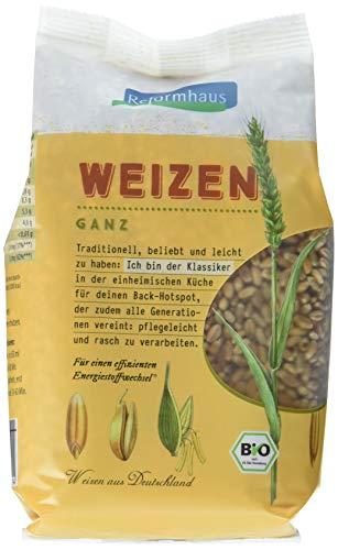 Reformhaus Weizen ganz Bio, 6er Pack (6 x 500 g)
