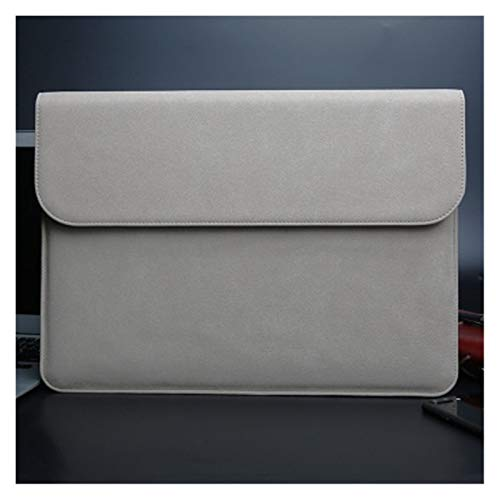 YTG Scrub pu computer liner bag 11 12 15 new 16 touch/ID bar women's men's cover (Color : Khaki, Size : For Macbook 12 inch)