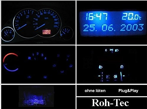 Blaues Komplettset Corsa/Combo C- Meriva- Tigra Twintop