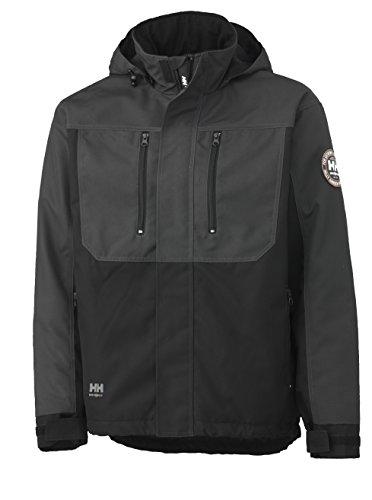 Helly Hansen 34-076201 Workwear Funktionsjacke/Berg Jacket Winterjacke,grau/schwarz,S