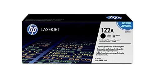 HP 122A - negro - original - LaserJet - cartucho de tóner ( Q3960A )
