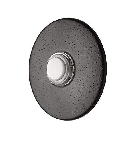 Newhouse Hardware ORB5WL Botón de Timbre Iluminado, 1 Paquete, Bronce aceitad