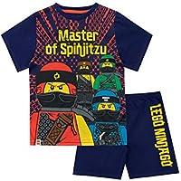 LEGO Pijamas de Manga Corta para niños Ninjago Multicolor 10-11 Años