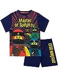 LEGO Jungen Ninjago Schlafanzug,Mehrfarbig,116 (Herstellergröße:6-7 Jahre)