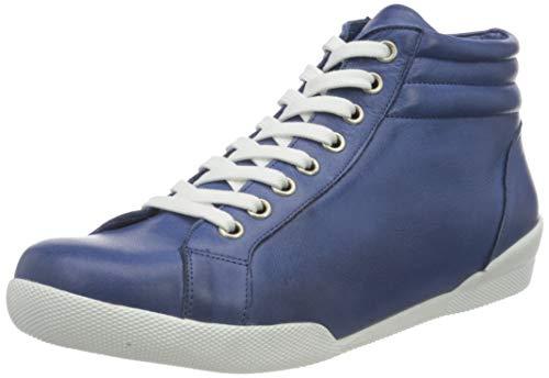 Andrea Conti 341718, Zapatillas Mujer, Denim, 40 EU