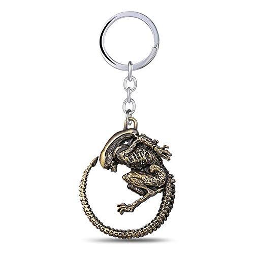 Alien Movie Inspired - Alien Key-chain (Bronze Color)