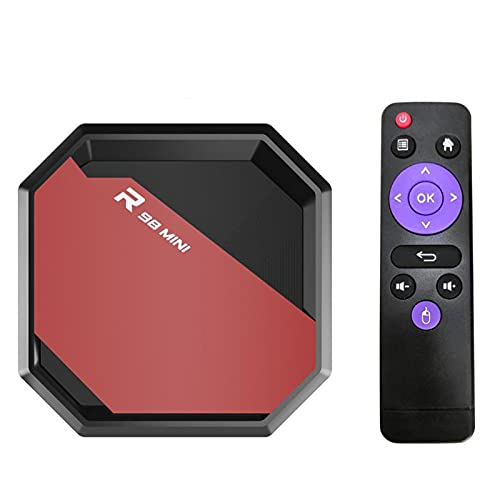 Android 10.1 TV Box, TV Box 4G + 32G Reproductor De Red Android 10.1 Network Set-Top Box Dispositivo Electrónico Inteligente