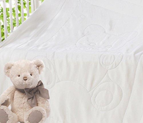 Seidenbettdecke für Kinder mit Füllung aus 100% reiner handgezogener Seide 100x135cm; Baumwolle Außenabdeckung/Bezug