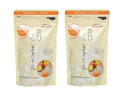 太田油脂 毎日えごまオイル 3g×30袋×2個セット