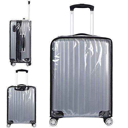 """Coperture per valigie, Luggage Cover Protettore Bagagli Suitcase Cover Custodie Protettive per Valigie Trasparente PVC Impermeabile Anti-polvere Scuola Viaggi Utilizzo Quotidiano (22"""")"""