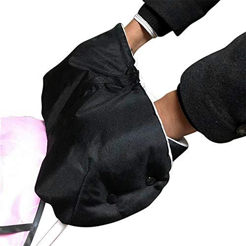 Jannyshop Poussette /Épaisse Chaud Gants en Peluche Mitaine Mobile T/él/éphone Poche Manchon /À La Main du Vent Imperm/éable /À leau lhiver