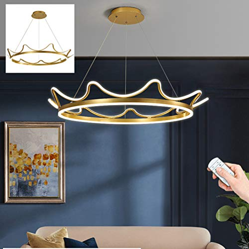 LED Pendant Light Dining Table Lamp Dimmable Modern Minimalist Pendant Lamp Creative Design Adjustable Height Living Room Lamp Bedroom Lamp with Remote Control Kitchen Lamp Lighting