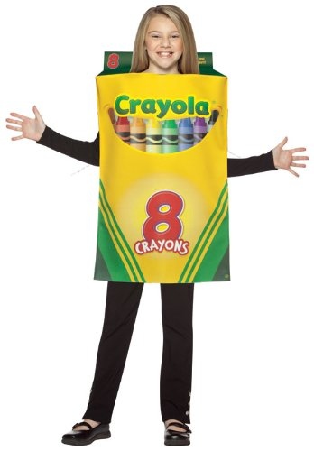 Rasta Imposta Crayola Crayon Box Costume,Multi,7-10