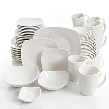 Gibson Select Amalfa Ceramic Dinnerware Set (56-Piece)