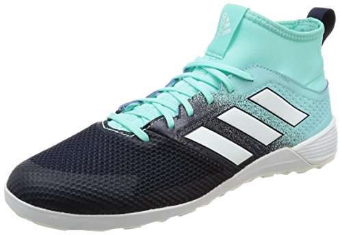 Adidas Ace Tango 17.3 Indoor, Scarpe Da Calcetto Sala Allenamento Calcio Uomo, Multicolore (Energy Aqua /Ftwr White/Legend Ink), 41 1/3 Eur