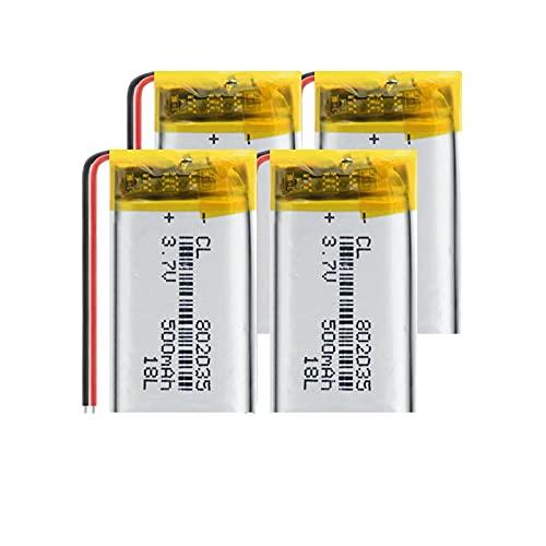 THENAGD Batería De PolíMero De Litio De Alta Capacidad 950mah 3.7v 603443, BateríAs De Litio Recargables para Mp4 Mp5 GPS Camera Pc 1piece
