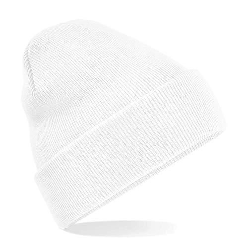 Beechfield - Winter Strickmütze Einheitsgröße,White