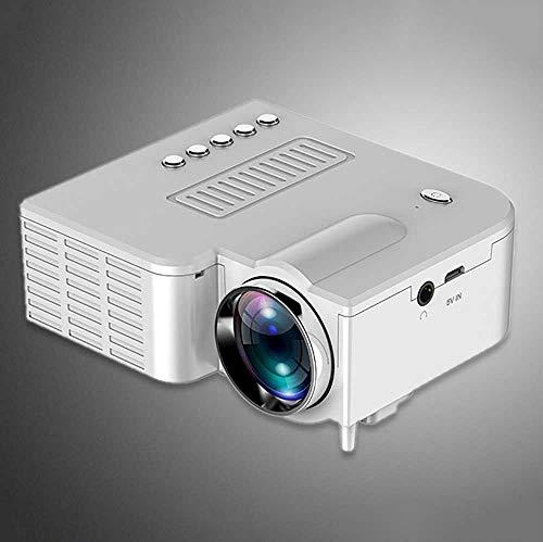 LED Draagbare Projector, Projectoren Home Cinema 50 Lumens En Full HD 1080P 20000Uur Lamp Leven Ingebouwde Speaker, Met Ventilator + Aluminium Radiator + Vortex Fan