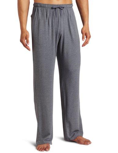 Derek Rose Men's Marlowe Lounge Pant, Charcoal, Large