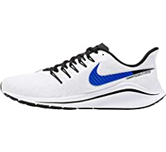 Nike Air Zoom Vomero 14, Zapatillas de Running para Hombre, Blanco (White/Racer Blue/Platinum Tint/Black 101), 41 EU: Amazon.es: Zapatos y complementos