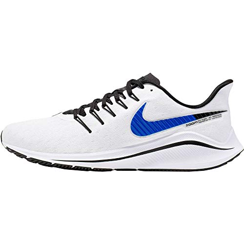 Nike Air Zoom Vomero 14, Zapatillas de Trail Running Hombre, Blanco (White/Racer Blue/Platinum Tint/Black 101), 40 EU