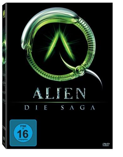 Alien Die Saga (4 DVDs)