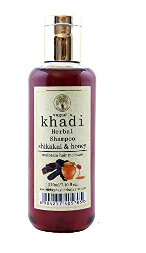 Vagad's Khadi Shikakai and Honey Shampoo, 210ml