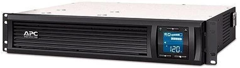 APC Smart-UPS 1500VA UPS Battery Backup with Pure Sine Wave Output Rack-Mount/Tower (SMC1500-2U)