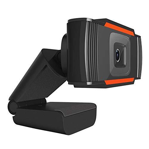 Domiluoyoyo Webcam with Microphone 1080P Webcam with Clip HD Auto Focus Webcam Desktop Camera Laptop USB Webcam Plug and Play Supple Advantage A