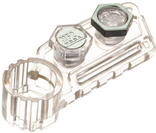 Beyblades JAPANESE Metal Fusion Accessory #BB84 Metal Face Bolt 1Pack Clear