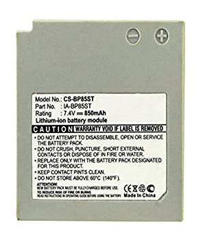Digital Replacement Camera and Camcorder Battery for Samsung IA-BP85ST SC-MX10P - Includes Lens Pouch