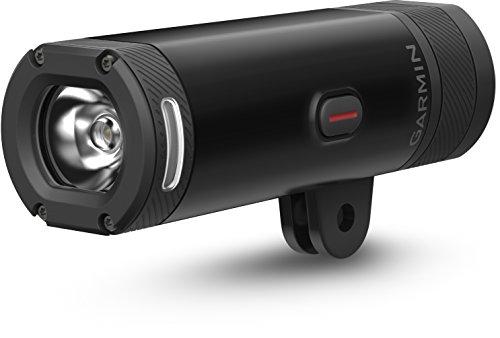 Garmin Varia UT800- Luz delantera inteligente con out-front pantalla plana,Negro
