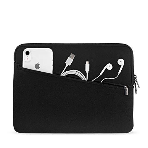 Artwizz Neopren Sleeve Pro Bag für [MacBook Air 13 (2018-2019), MacBook Pro 13 (2016-2019)] - Transporttasche mit extra Zubehör Organizer Pocket Organizer