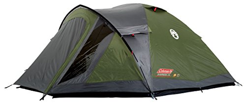 Coleman Tent Darwin 4+, Compact 4 Man Dome Tent, also Ideal for Camping in the Garden, Lightweight 4 Person Camping Outdoor Tent, Waterproof, Sewn-in Groundsheet