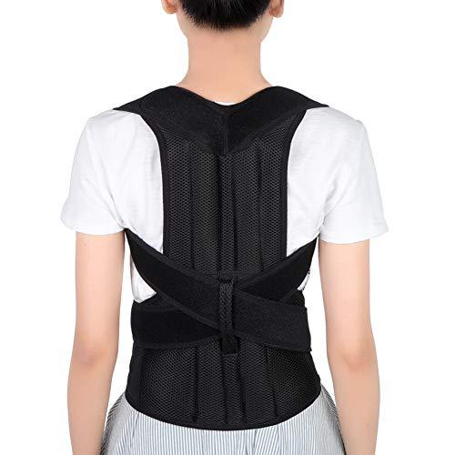 Corrector de Postura Espalda, Ajustables Apoyo de Espalda, Enderezador de Espalda, Cinturón Corrección de Postura para Hombres y Mujeres, Aliviar el dolor de Espalda y Hombro (L(91-104cm))