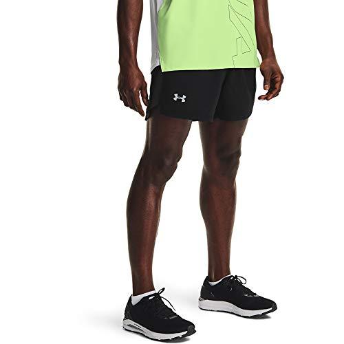 Under Armour HG Armour HiRise Leg, leichte Sport Leggings, komfortable Sporthose für Frauen Damen, Charcoal Light Heather / White, 2XL