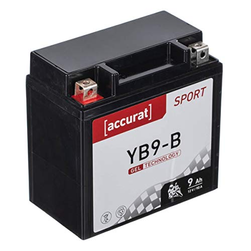 12N9-4B-1 12V 9Ah Fulbat Batterie Moto Gel YB9-B