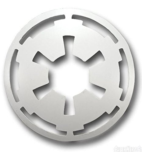 Star Wars Imperial Cool Belt Buckle (White)