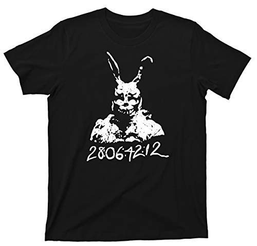 Donnie Darko T Shirt 28:06:42:12 Frank Bunny Rabbit Tee (Medium, Black)
