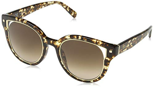 Escada Sunglasses Damen Sonnenbrille, Braun (Shiny Brown Havana)