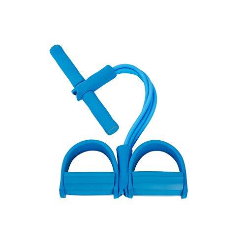 Old street Fake Nail Widerstandsbänder Frauen |4 Resistanc Elastic Pull Ropes Exerciser Rudergerät Belly Resistance Band Home Gym Sporttraining Elastic Bands für Fitnessgeräte-G284404-