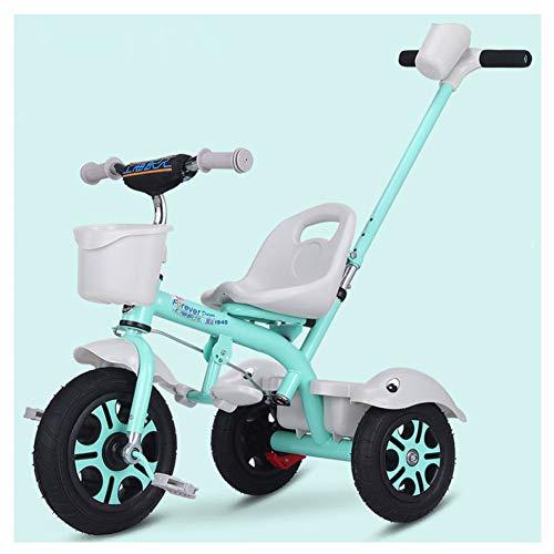 GIFT Premier Vélo Roue Molle Kids Tricycle Trike EVA, Siège Peut être Ajusté, Cadeau De Noël Nouvel an 2-6ans,D