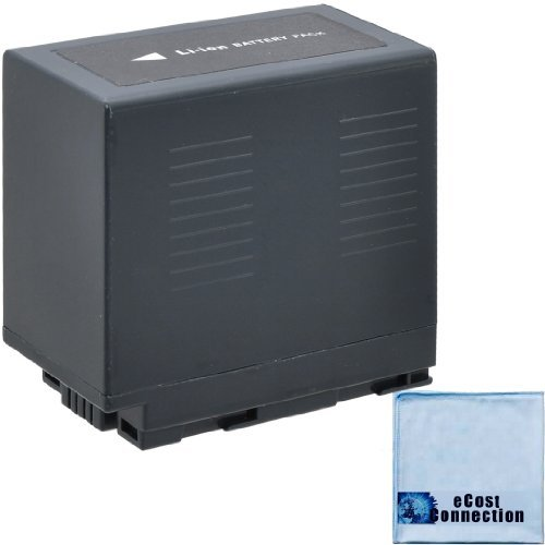 ecost memory cards CGR-D54 6600mAh Li-Ion Camcorder Battery for Panasonic NV-DS88, NV-DS88K, NV-DS89, NV-DS8EG, NV-DS99, NV-DS99EG, NV-DS990EG, NV-EX1B, NV-EX1EG, NV-EX21, NV-EX21EG, NV-EX3, NV-EX3EG
