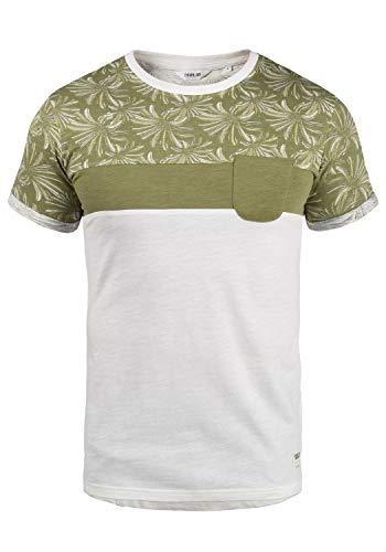 !Solid Florian Herren T-Shirt Kurzarm Shirt Rundhals-Ausschnitt aus 100{ba5951327644b59782bc02c2b92f3cd950679c7c3fe79153f1141eff1eacd01c} Baumwolle Meliert, Größe:XL, Farbe:Aloe (3612)