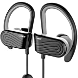 SMAZING® Vogix Wireless Bluetooth Earphones Stereo Magnetic Earbuds Secure Fit with Built-in Microphone (Smasher Pro Black Next Gen) bluetooth stereo earbuds sports Jan, 2021
