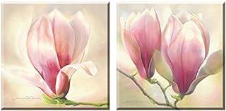 Elegant Arts & Frames Set of 2 Stretched Canvas Art 8 x 8